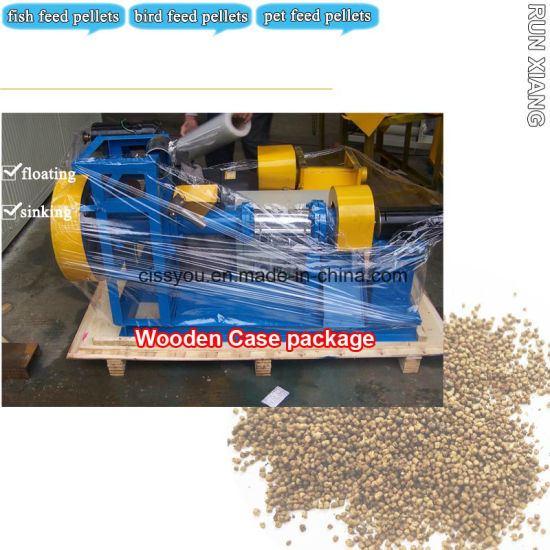 80-100kg\H Floating Fish Food Feed Pellet Machine (WSP) pictures & photos