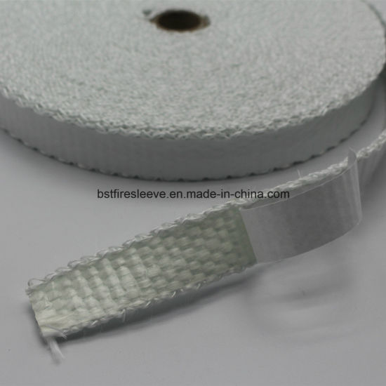 Insulation Materials High Temperature Woven Fiberglass Adhesive Tape