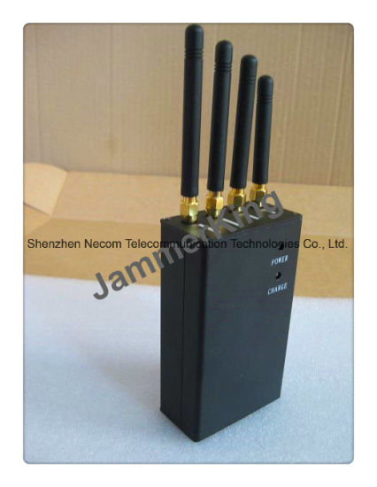 Cell Phone Jammer for GSM/CDMA, 3G, WiFi Signal with 4 Antennas pictures & photos