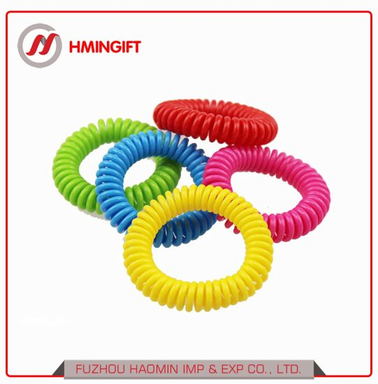 Good Quality Eco-Friendly Incense Spring Coil Mosquito Repellent Bracelet, Anti Misquito Wristband pictures & photos