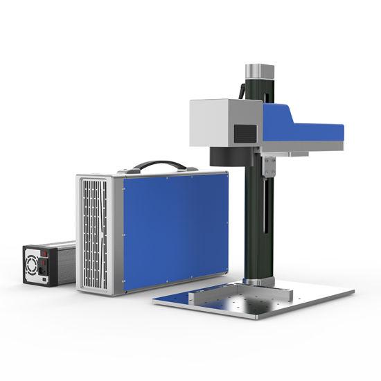 Raycus Ipg Mopa Portable Desktop 20W Metal Plastic Small Fiber Laser Marking Machine Price Wholesale