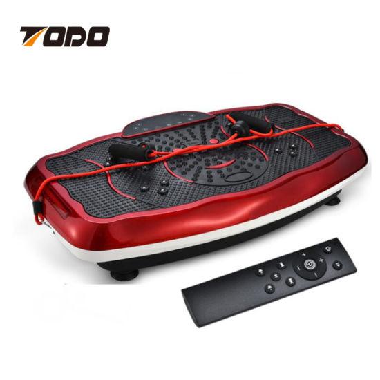 China Ultrathin Vibration Plate Crazy Fit Massage Hot Sale Top