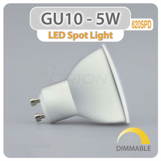 Hangzhou Factory Wholesale 5W LED Spot Light 220V Bulb LED GU10 pictures & photos