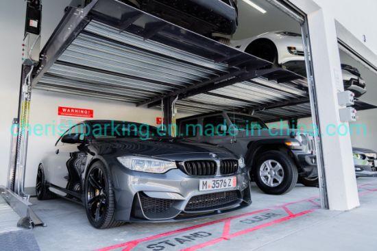 2 Layer SUV Car Parking Garage Equipment