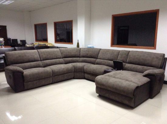 Living Room Modern Corner Recliner Sofa
