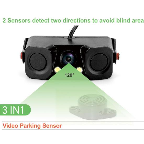 2018 Upgrade Control Unit & Camera & Ultrasonic Sensors Integration Video Parking Sensor