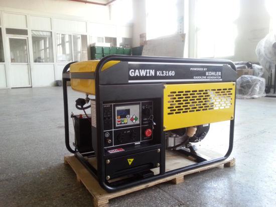 China Two Years Warranty Kohler Engine Gasoline Generator - China
