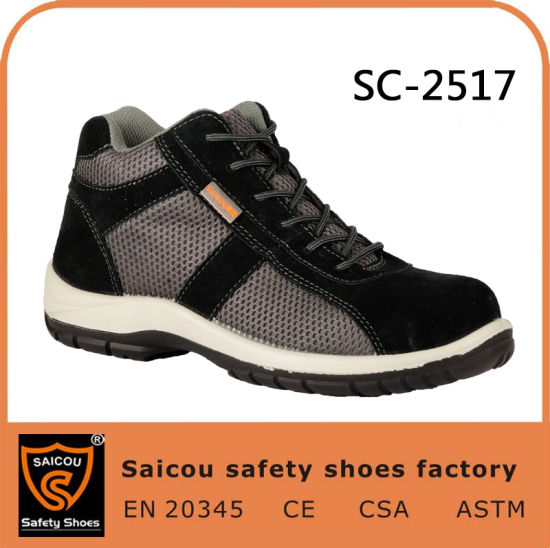 Automobike Industry Work Boots Safety Shoes Sc-2517