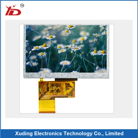 7 TFT LCD Screen Resolution 320X240 High Brightness With Capacitive Touch Panel