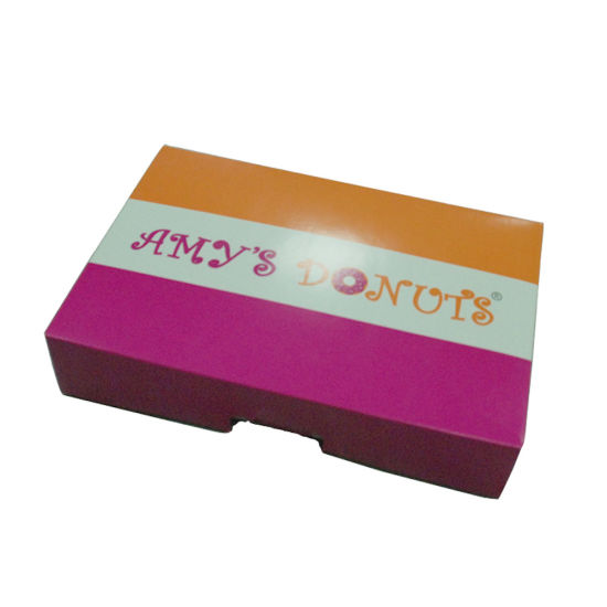 Hot Sell Accept Customer Order Donut Box pictures & photos