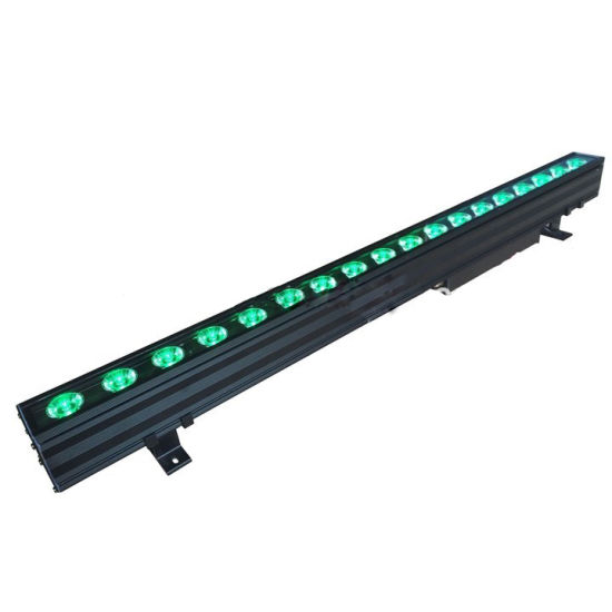 china 18x10w rgbw full color outdoor led wall wash bar light from