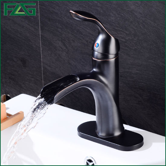 Flg Orb Bathroom/Sanitary Ware Waterfall Mixer/Tap/Faucet