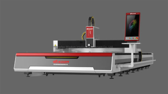 High Power 1000W Sheet Metal Fiber Laser Cutter Cutting Machine for Ss/CS/Stainless Steel/Carbon Steel/Copper/Aluminium Alloy with CE ISO