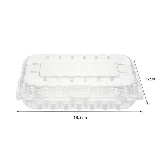 Factory Price Pet High Quality Transparent Fruit Plastic Box Fruit Container