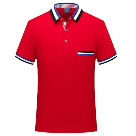 Custom Mens Golf Polo Shirts with Pocket Blank Polo T-Shirt ...