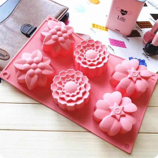 Silicone Soap Mold 3D Chocolate Supplies Baking Pan Tray Molds