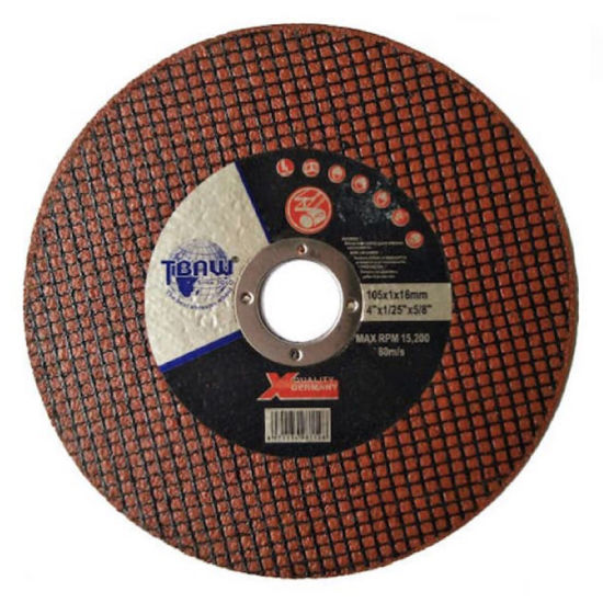 Factory High Quality 4 Inch Super Thin Cutting Wheel for Stainless Steel and Metal Polishing
