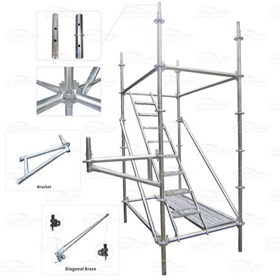 Easy Install All-Round Steel Ringlock Scaffolding System, Guangzhou Manufacturer