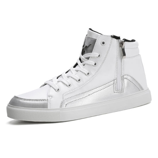High Top Board Shoes Handmade Shoes Casual Shoe