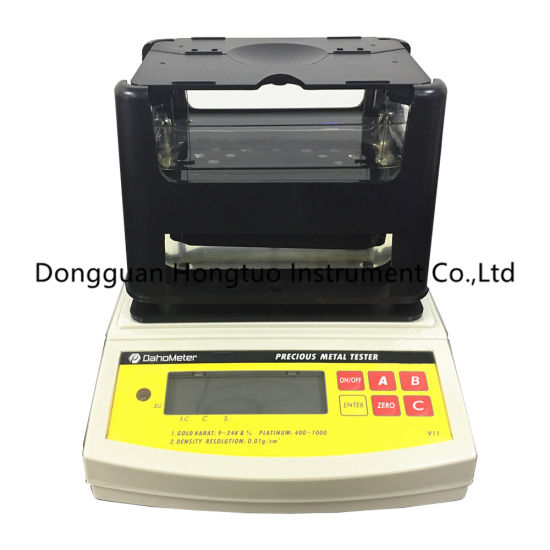 DH-300K DahoMeter Digital Electronic Gold Testing Machine, Gold Purity Testing Machine Good Quality Assurance