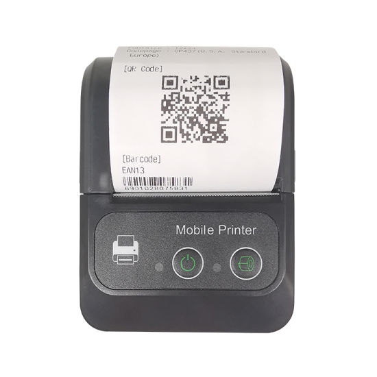 China Free Sdk Bluetooth Printer Portable Mini Mobile Android Printer For Sale China Bill Printing Machine Portable Qr Code Printer