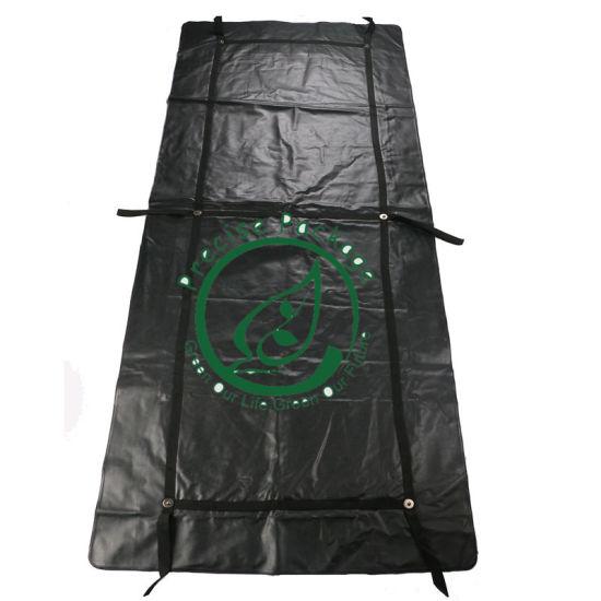 Medical Waterproof Dry Black Funeral Corpse Dead Died Body Bag