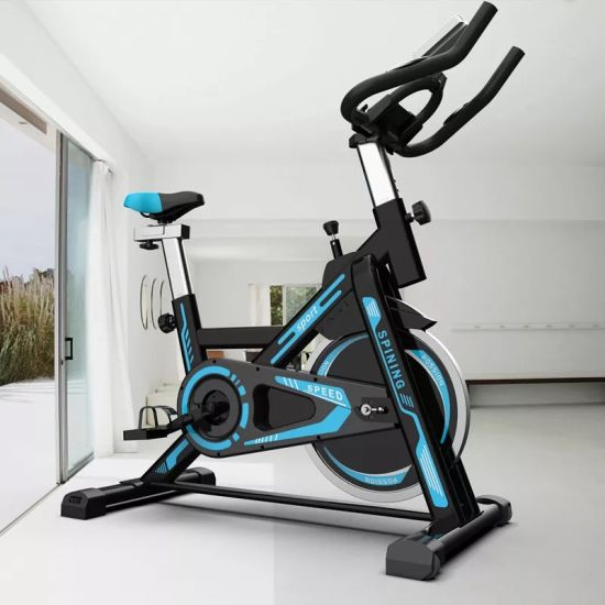 Home Use Spin Bike Flywheel 6kg Magnets Force Exercise Cycle Cardio Trainer Bike pictures & photos