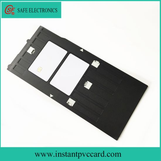 Hot Selling Inkjet PVC ID Card Tray for Epson R230 Printer