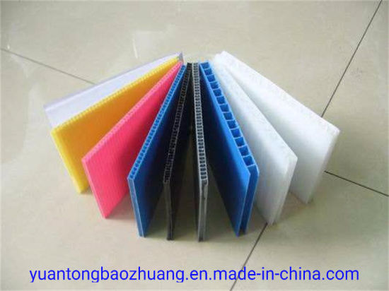 Factory Direct PP Material Corrugated Plastic Correx Sheets for Floor & Wall Protection pictures & photos