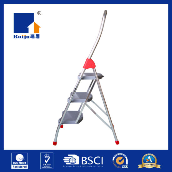 Bestep Wide Aluminum Ladder for Daily Use pictures & photos