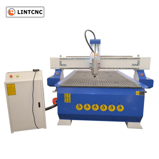 1325 3D CNC Router Wood/Stone/Aluminum/Metal Cutting Engraving Machine with Vacuum Table