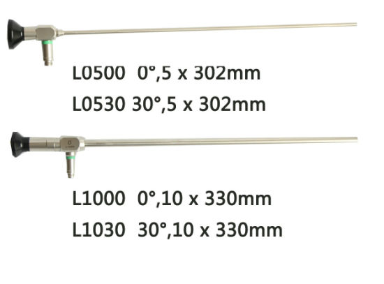 10X330mm Human Medicine Endoscope Laparoscope
