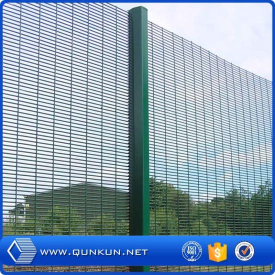 China Powder Coated And Galvanzied High Security Fencing