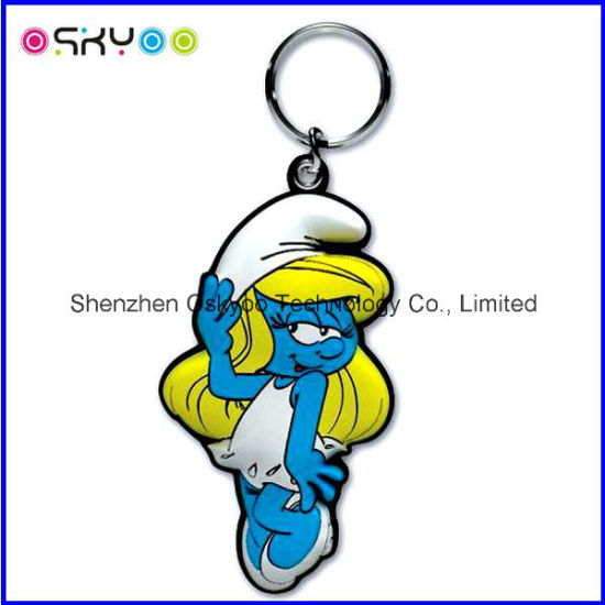 Promotion Gift Soft PVC Rubber Key Chain (SPK008)