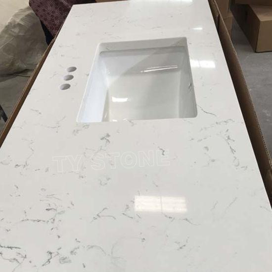 Artificial Engineered Stone Carrara