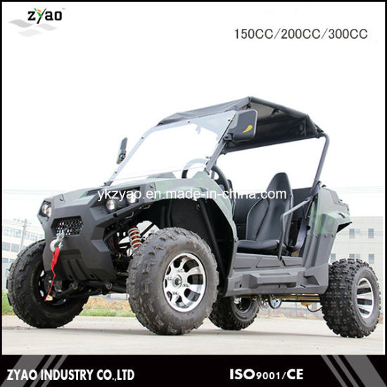 UTV 2000W/72V/51ah Electric UTV with 2 Seats 2WD or 4WD 4X4 pictures & photos