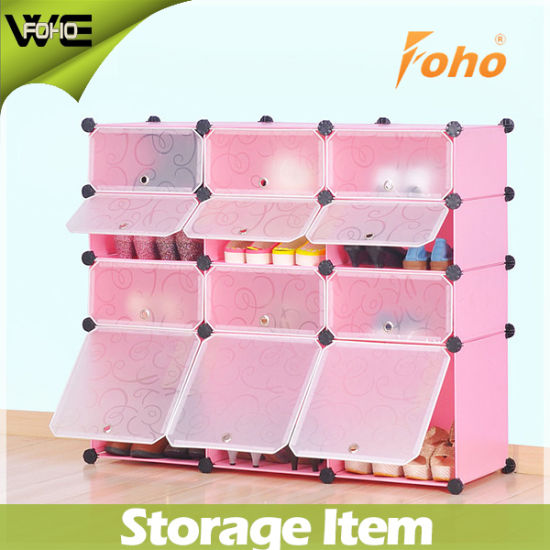 China DIY Shoe Store Furniture Plastic Large Corner Shoe Cabinet ...