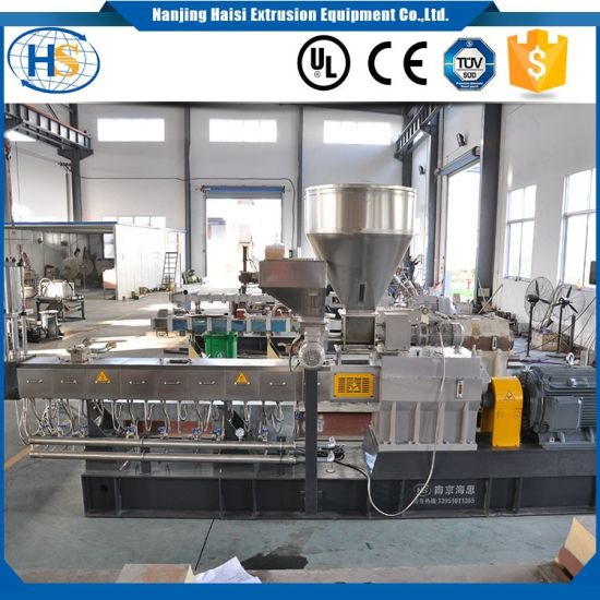 ABS Filling Masterbatch Twin Screw Extruder pictures & photos