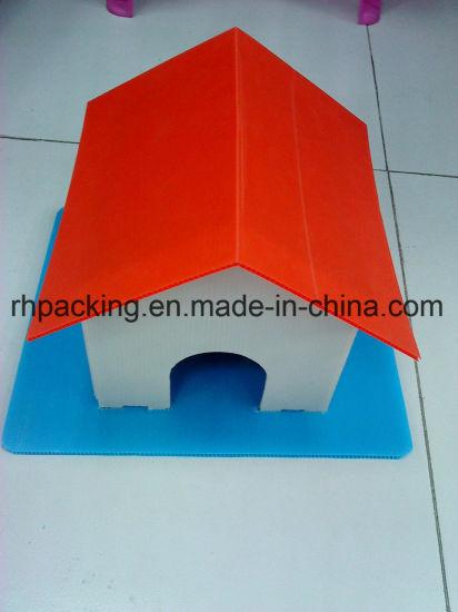 China Dog House Made Of Waterproof Corrugated Sheet Coroplast Corflute Correx Plastic Board China Pp Corrugated Plastic Sheet Corflute
