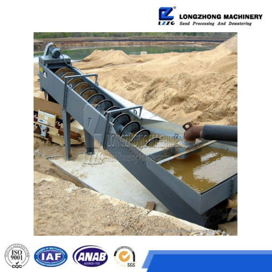 Spiral Sand Washer with Top Quality in China