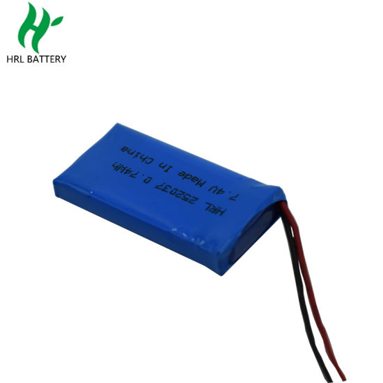 Lipo Battery Pack Hrl252035 3.7V 100mAh for Smart Assistant Watch pictures & photos