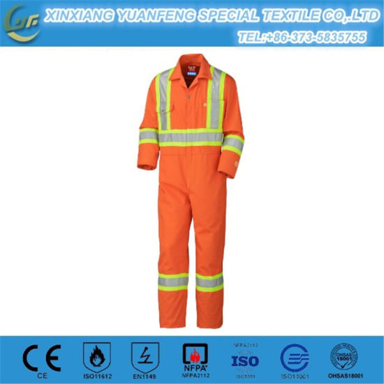Hot Sale Flame Frc Safety Work Fireproof Clothing Wholesale