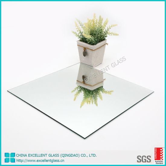 China 3-8mm Float/Silver/Bathroom/Decorative/Antique/Copper Lead Free Mirror