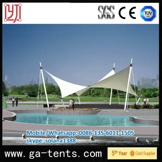China Tensile Swimming Pool Awning Tent - China Swmming Pool ...