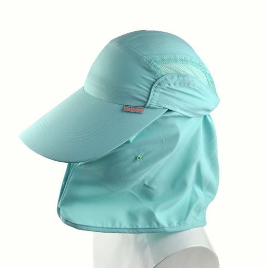 5bd9ff336c09d China Custom Long Bill Baseball Cotton Cap Sun Protection Hats with ...