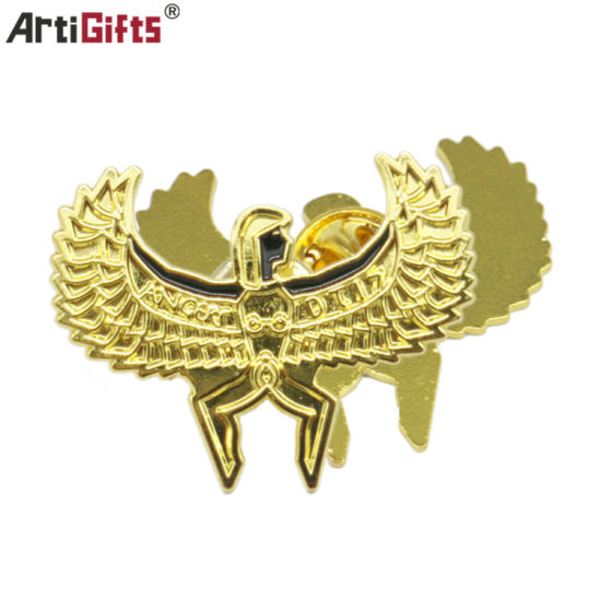 Manufacturer Cheap and High Quality Custom Imitation Gold Plating with Custom Logo Design Promotional Wholesale Metal Lapel Pin