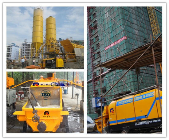 110m Vertical Pumping Distance Electric Portable Concrete Pump (HBT60.13.90S) pictures & photos