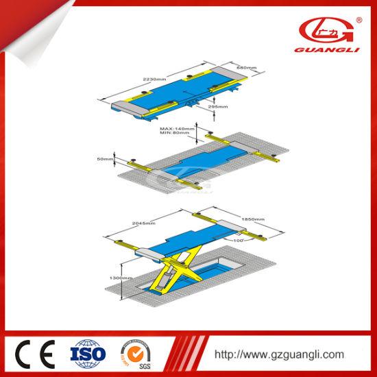 Chinese Factory Best Selling Hydraulic Auto Lift Scissor Car Lift Car Repairing Equipment