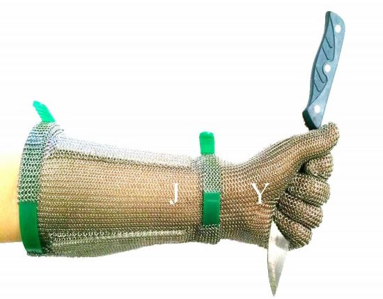 Stainless Steel Wire Liner Cut Resistant Glove Safety Butcher Work & Labor Gloves pictures & photos