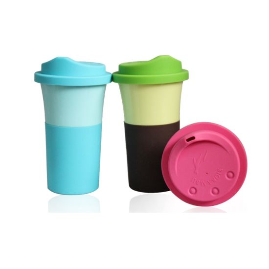 BPA Free Bamboo Fiber Coffee Cup (BC-C1053) pictures & photos
